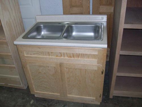 mueble fregadero con tarja y mezcladora kit de instalacion