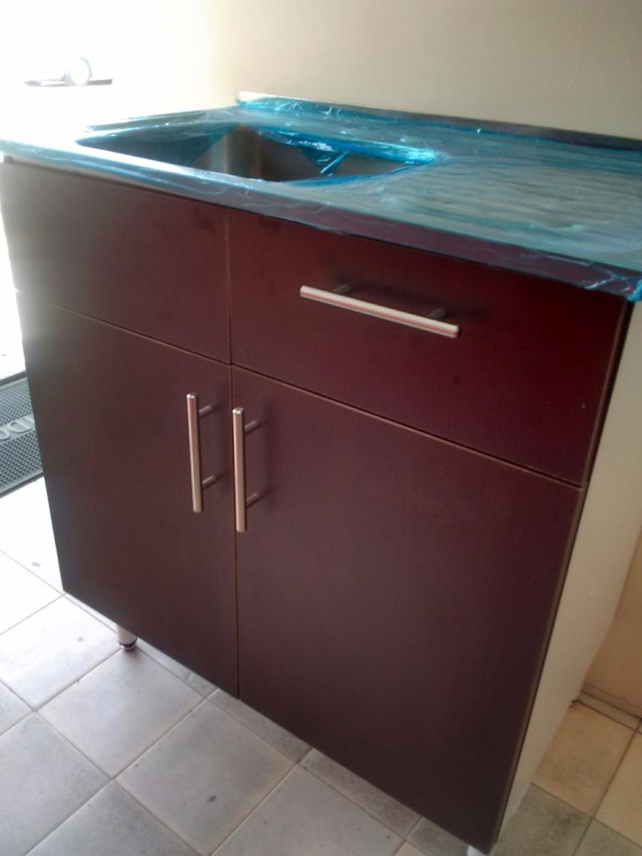 Mueble fregadero de cocina de 80 cm 2 en for Lavadero de cocina con mueble