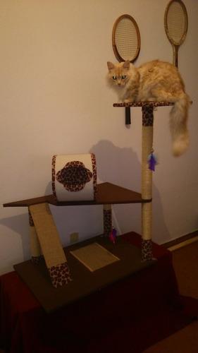 mueble gimnasio rascador para gatos. ras