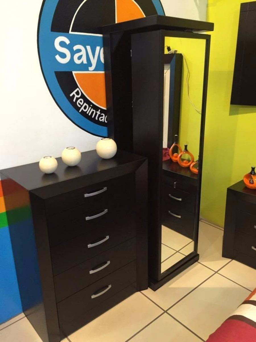 Mueble giratorio con espejo espa a recamaras 3 en mercado libre - Muebles para restaurar madrid ...