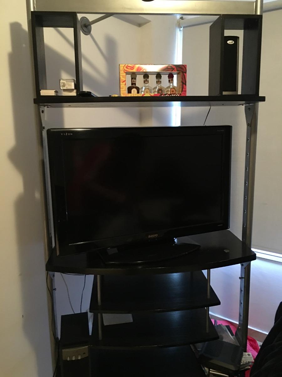 Mueble Giratorio Para Tv Ultima Generacion 4 500 00 En Mercado  # Muebles Generacion