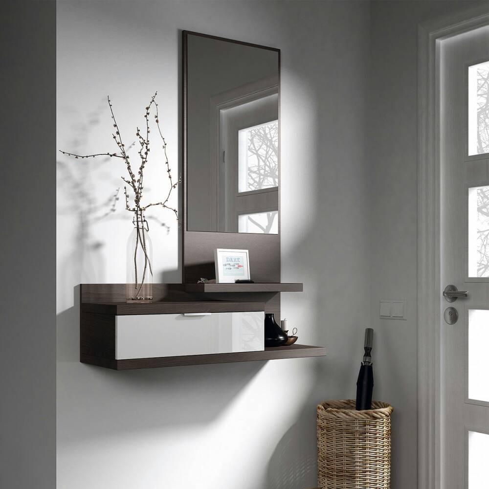 Mueble hall de entrada moderno minimalista zonas de paso bs en mercado libre - Recibidores de entrada ...