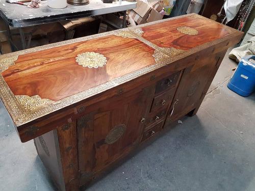mueble hindú importado nuevo - hecho a mano -