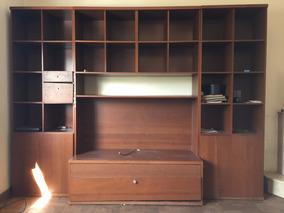 Mueble Ikea (modular / Biblioteca / Tv) Para Living Comedor