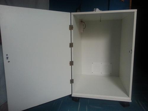 mueble indoor melamina 60x60x90, 150w kit mixto $130.000.-
