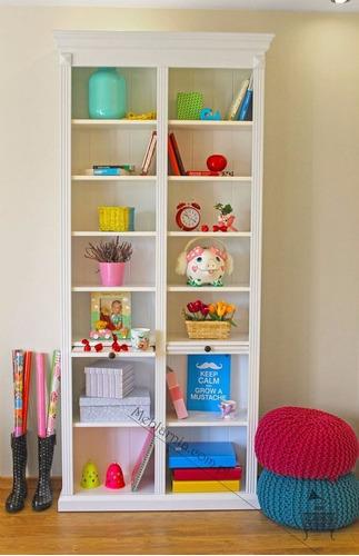 mueble infantil de madera organizador - librero - repisas