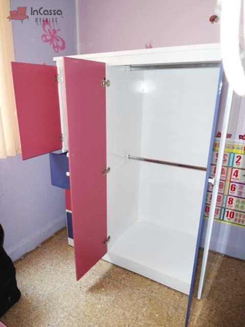 Mueble Infantil Moderno Guardarropa Para Recamara Mod Danna ...