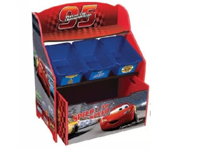 Mueble Organizador Completo Infantil Cars Juguetes 8n0PwXOk