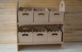 Repisa Mueble Cajas Plibros De Juguetes Fibrofacil Infantil OPuZTikX