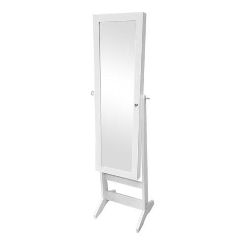 mueble joyero blanco con espejo / el container