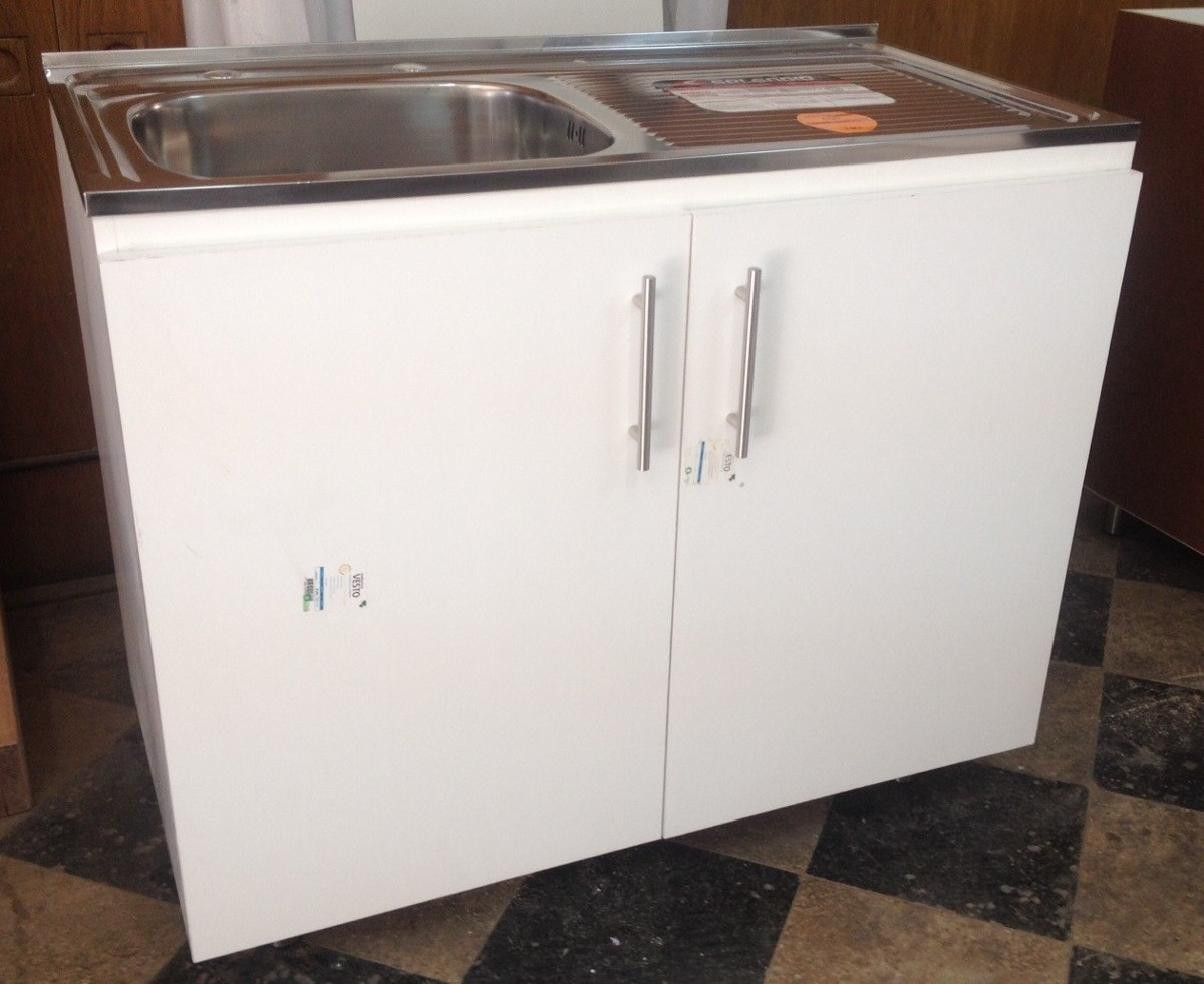 Mueble lavaplatos cocina en mercado libre for Muebles de cocina 1 metro