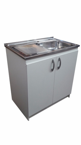 mueble lavaplatos completo 80 cm mys/ muebles sarmientos
