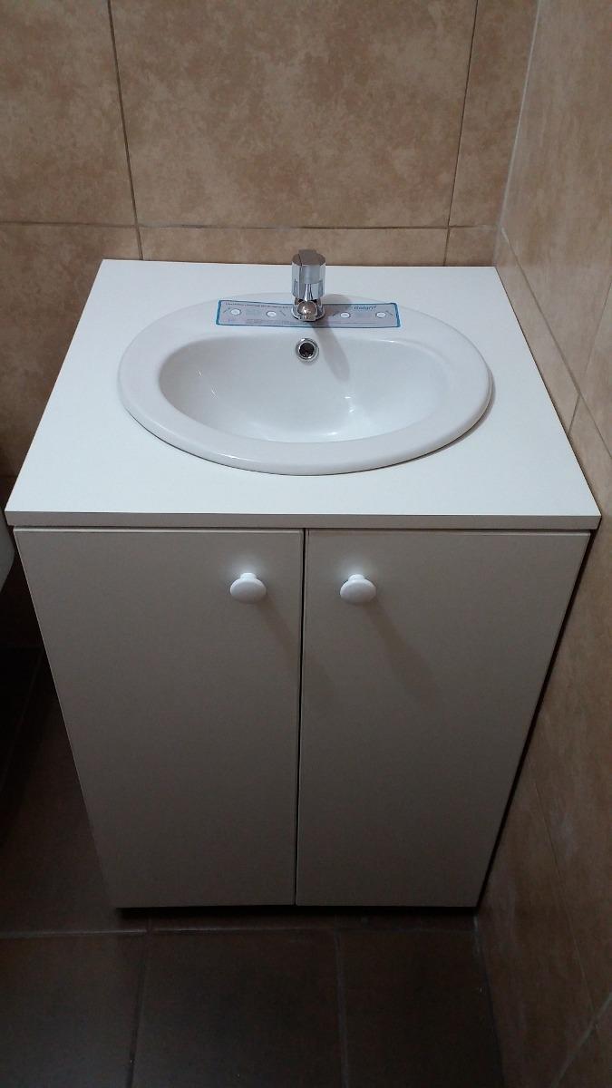 Mueble lavatorio oval n melamina tropicalizado antihumedad s 250 00 en mercado libre - Muebles para lavaderos ...