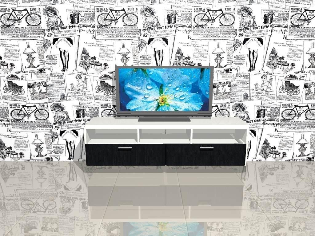 Mueble Lcd Mesa De Tv Modular Led Rack Moderno Asti 1 80 Mts  # Muebles Cipriano Lanus