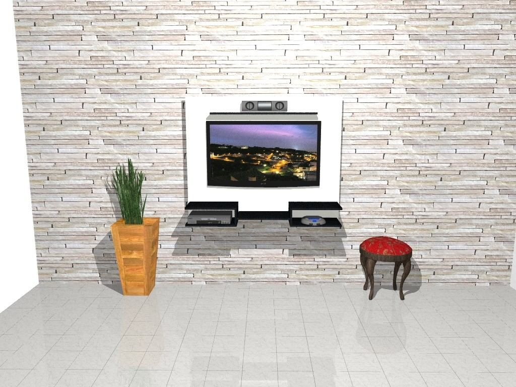 Mueble Lcd Mesa De Tv Vajillero Modular Led Rack Florencia  # Muebles Cipriano Lanus