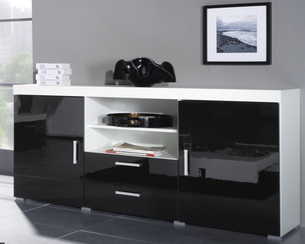 Mueble Lcd Vajillero Living Comedor Luna03 Megacell  $ 4399,00 en