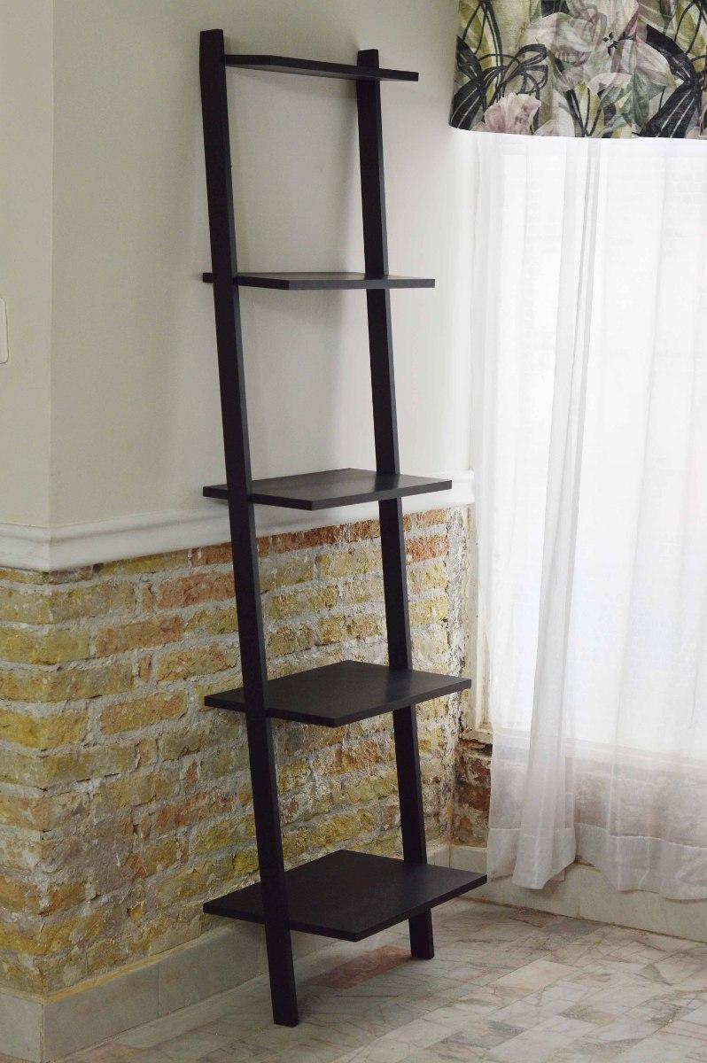 Mueble librero escalera 5 repisas sala cocina recamara for Librero escalera