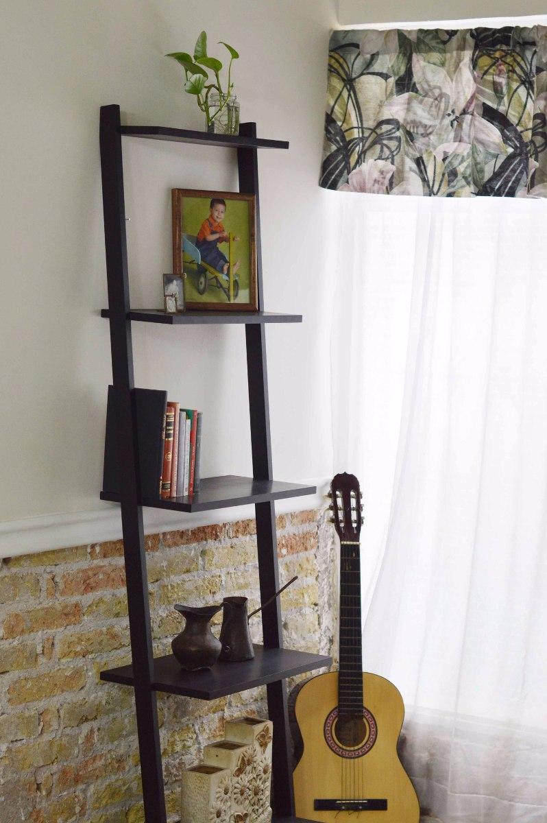 Mueble librero escalera 5 repisas sala cocina recamara for Mueble de 5 repisas