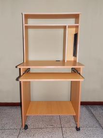 Muebles Para Computadora De Madera.Mueble Librero Modular De Madera Para Computadora