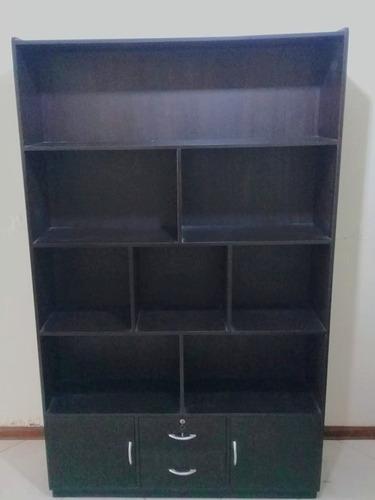 mueble libros/aparador. alt 200 cms ancho 122 cms  fondo 30