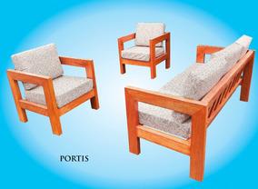 Mueble Living De Terraza Modelo Portis