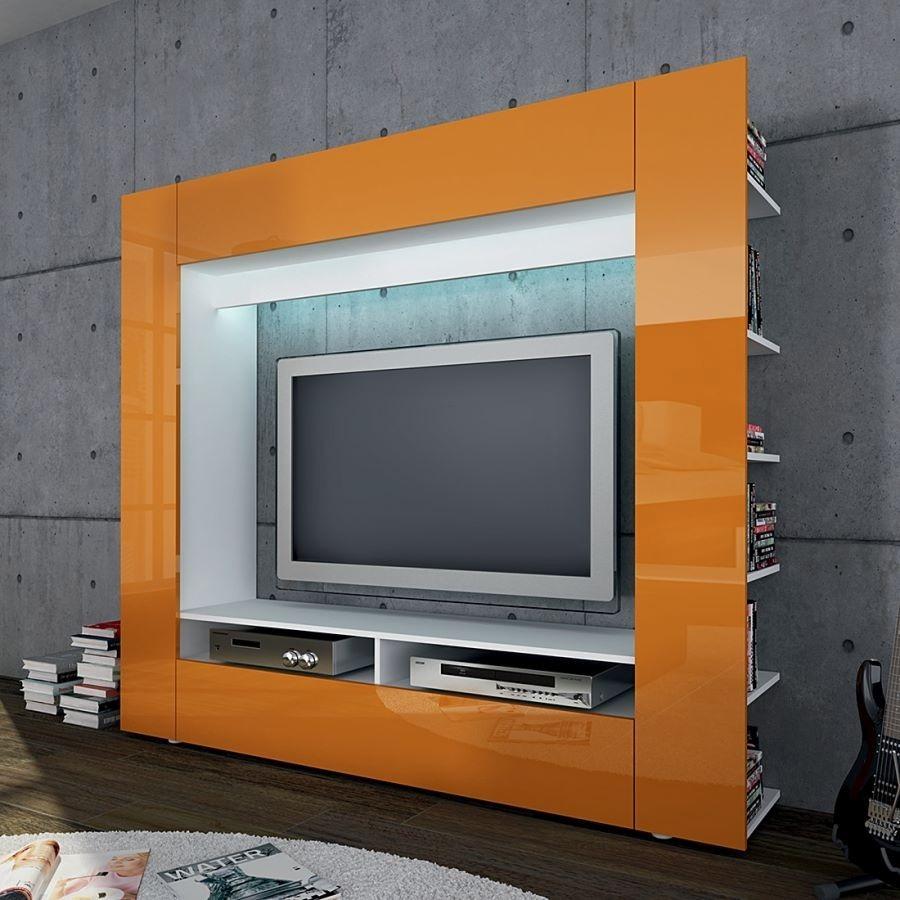 Mueble loock centro de tv moderno 6 en mercado - Mueble moderno para tv ...