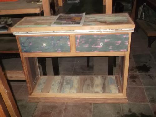 mueble madera de demolicion