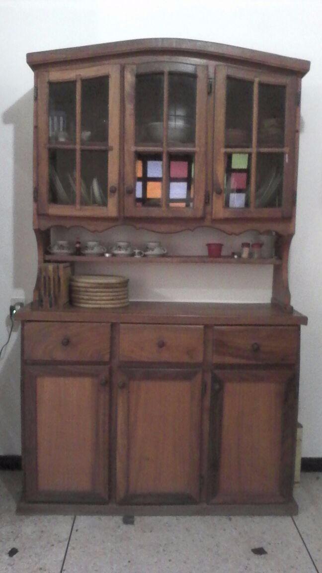 Mueble madera para cocina bs en mercado libre for Muebles cocina madera