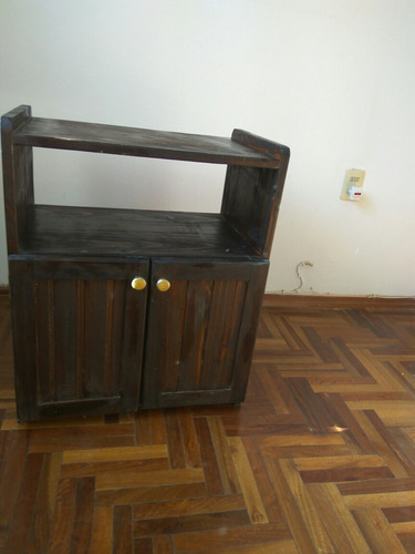 mueble madera tele
