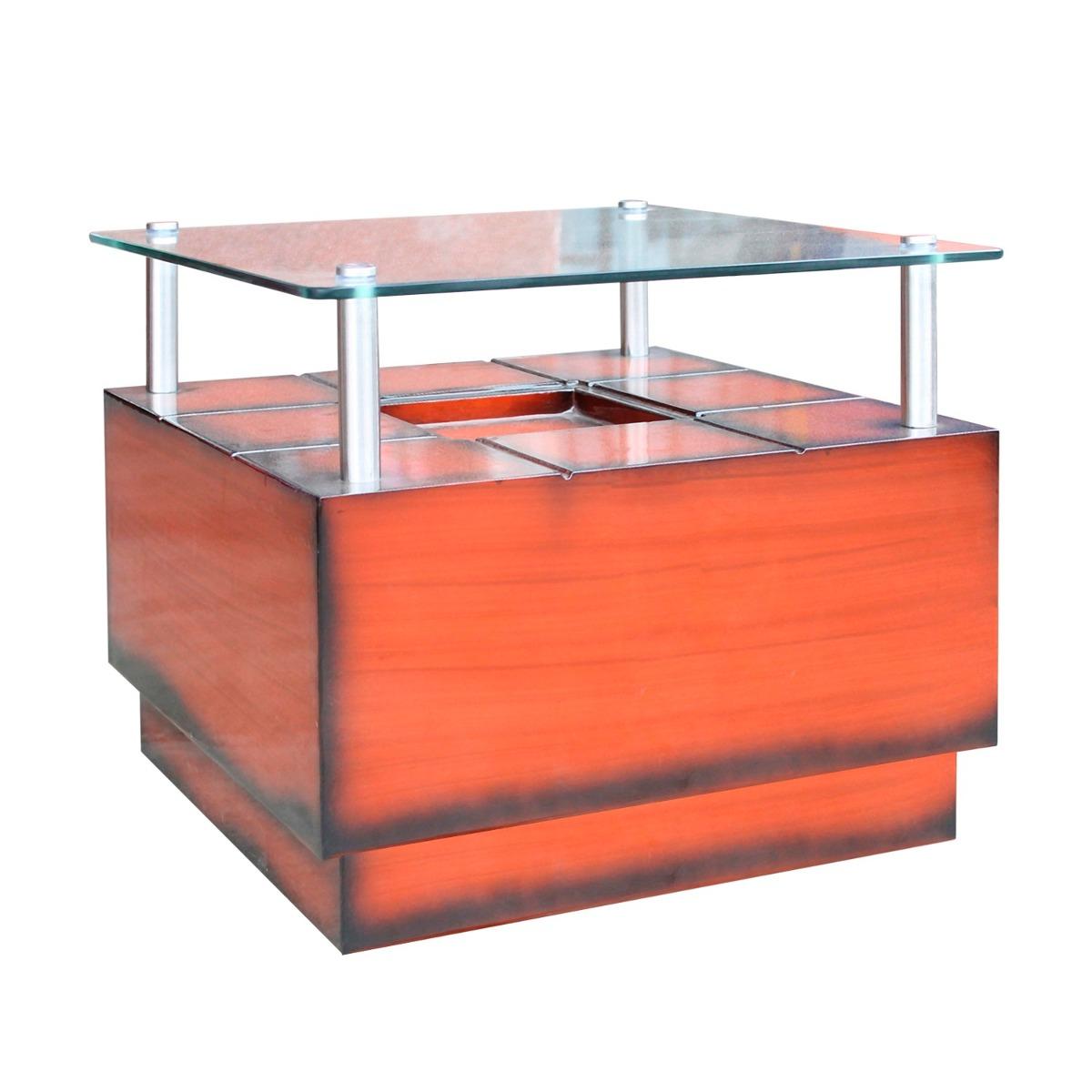 Mueble mesa de centro sala living modelo square s 189 for Centro mueble