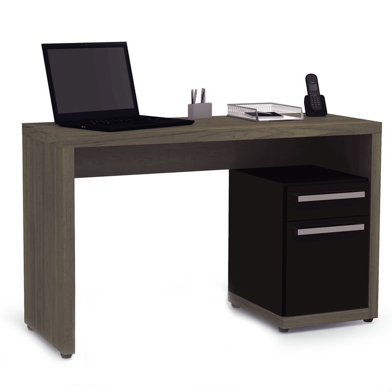 Mueble Mesa Escritorio Rack Notebook Pc Cajon Oficina S970 - $ 2.464 ...