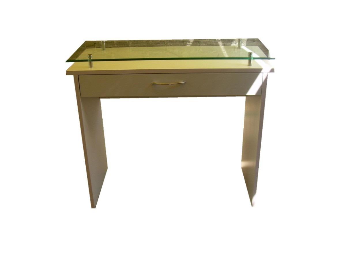 Mueble Mesa Para Estetica, Uñas, Con Cristal - $ 2,220.00 ...