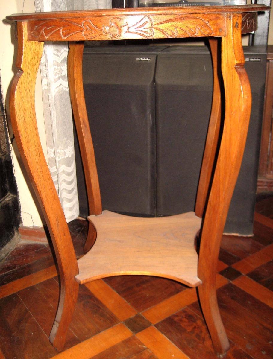 Mueble Mesa Tallado Tallada Madera Cedro Remate Remato S 390 00  # Muebles Tallados En Madera