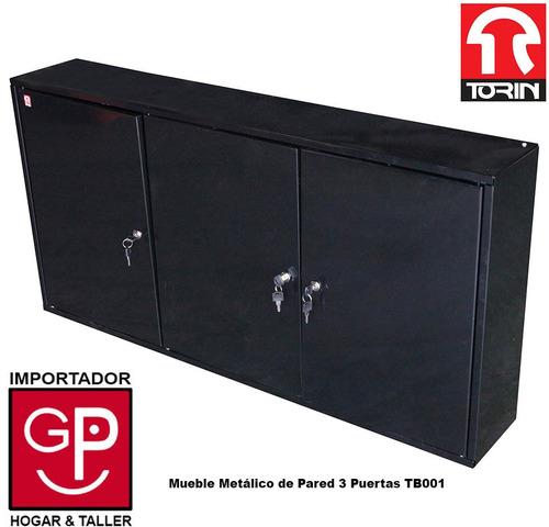 Mueble Metálico De Pared 3 Puertas Tb001 Torin  U$S 209,00 en
