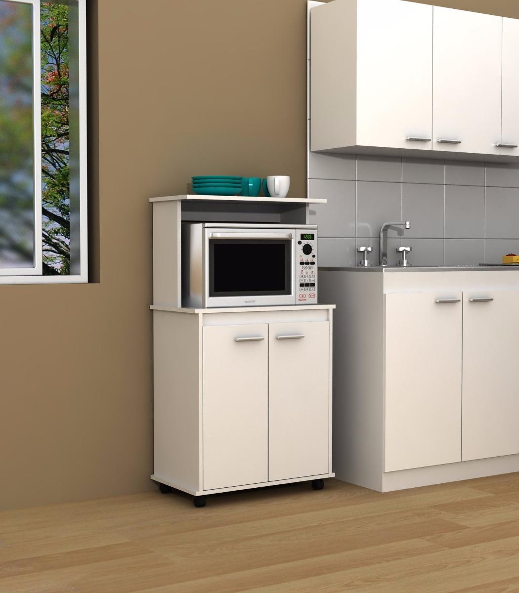 Mueble microondas roma linea italia rta 1 en for Mesa para microondas