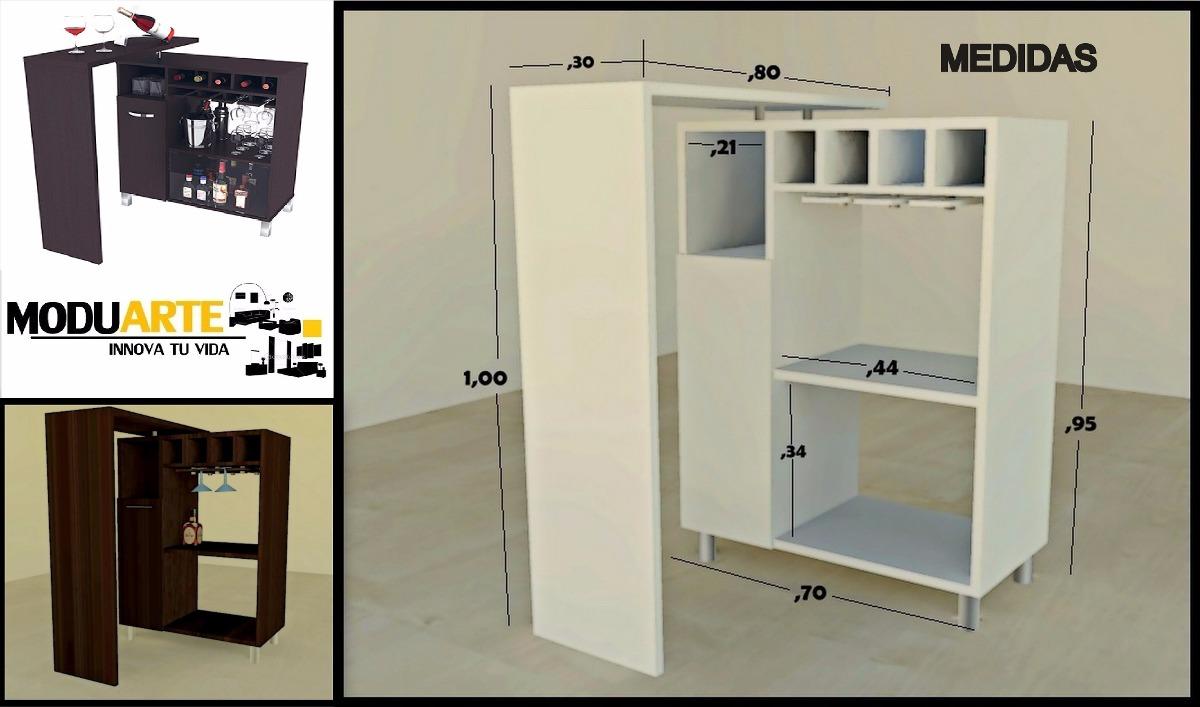 mueble mini bar en mercado libre