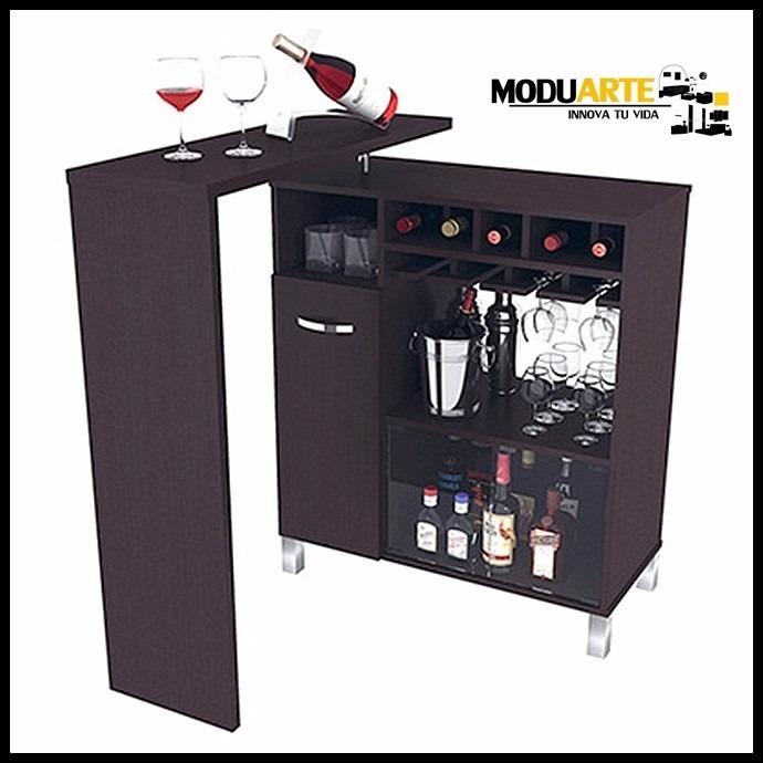 Mueble mini bar en mercado libre for Mueble bar para living