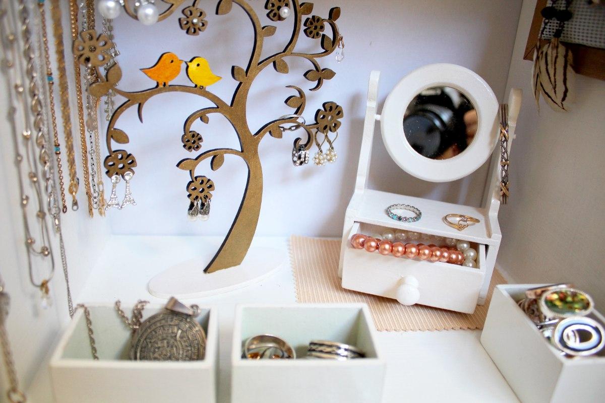 Mueble Miniatura Casa Mu Ecas C Moda Con Espejo 250 00 En  # Muebles Para Bijou