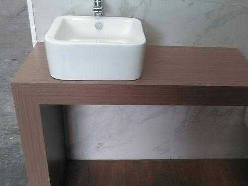 Mueble minimalista para lavabo 1 en mercado libre - Mueble para lavabo ...