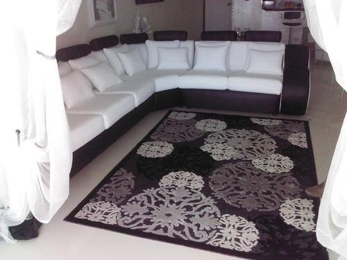 mueble moderno con estilo exclusivo blanco y negro