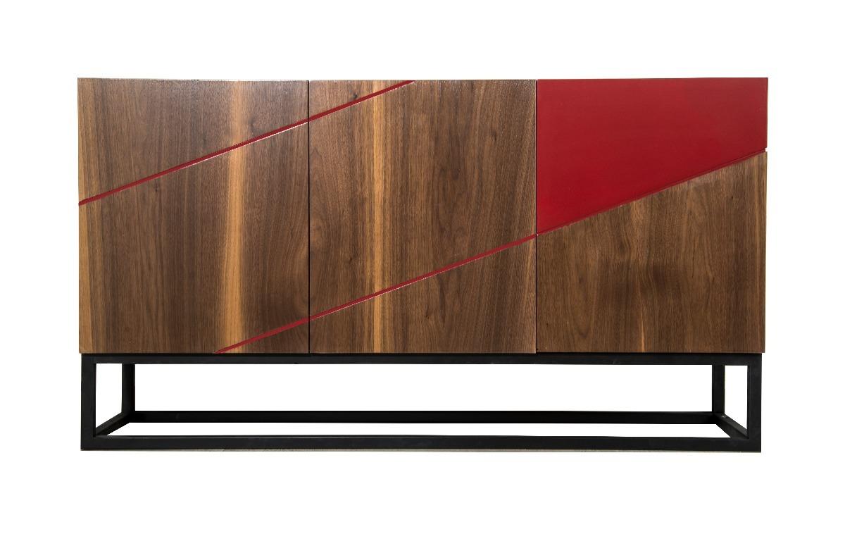 Mueble Moderno De Dise O Credenza C Moda Consola Bufetera  # Muebles Bufeteros Modernos