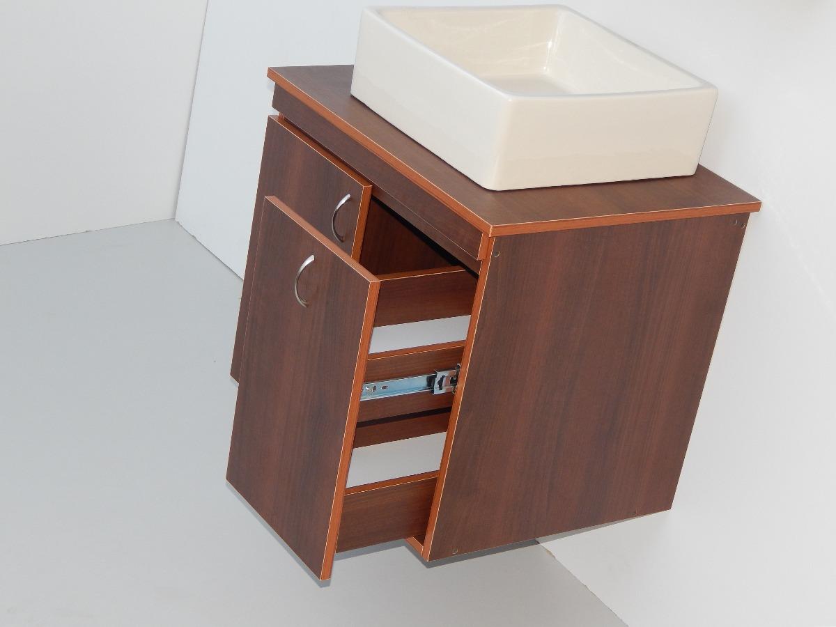 Mueble modular base en melamina para ba o mod mb 5 bs - Laminas para cuartos de bano ...
