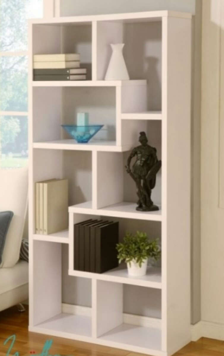 Mueble Modular Biblioteca Rak Rack Cubos Divisor Ambientes  # Muebles Divisores De Espacios