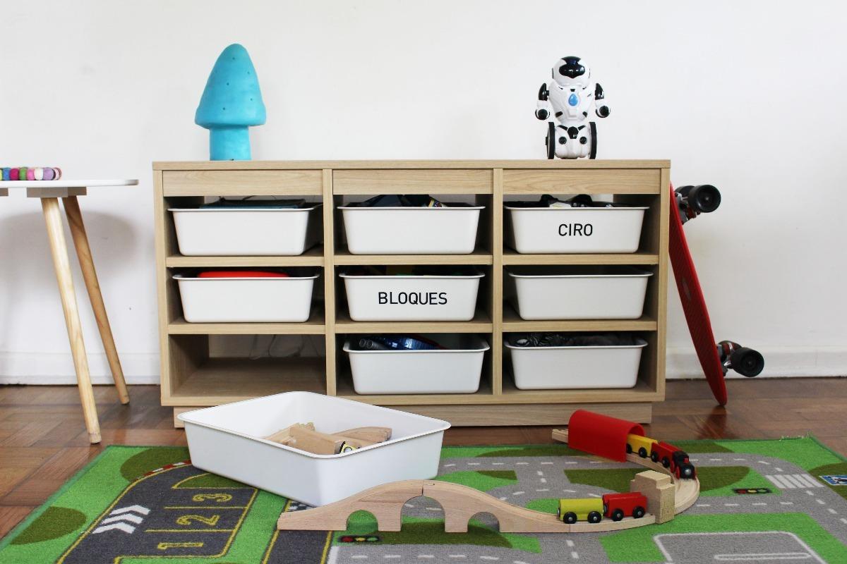 Mueble Modular Cajones Plasticos - Guardajuguetes Cajonera - $ 6.700 ...