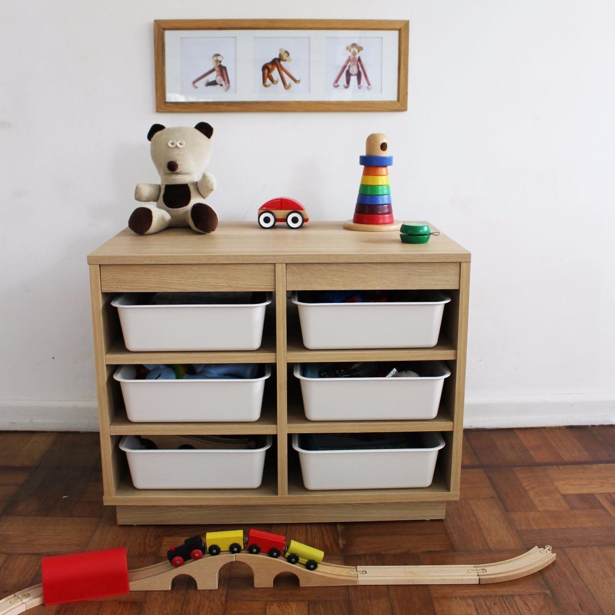 Mueble Modular Cajones Plasticos - Guardajuguetes Cajonera - $ 5.050 ...