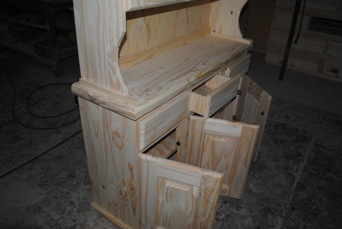 Mueble Modular De Pino 1 20 Mts 2 600 00 En Mercado Libre # Muebles Lijados