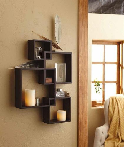 mueble modular, estante repisas intersecadas