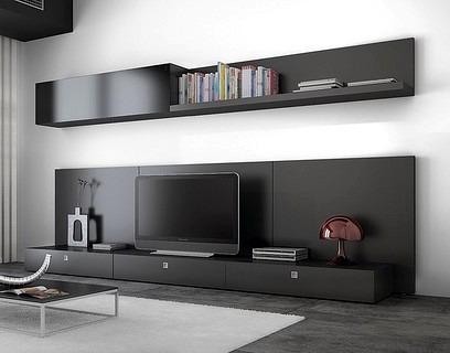 Mueble Modular Moderno Lcd Living Progetto Mobili -  10.841,00 en ...