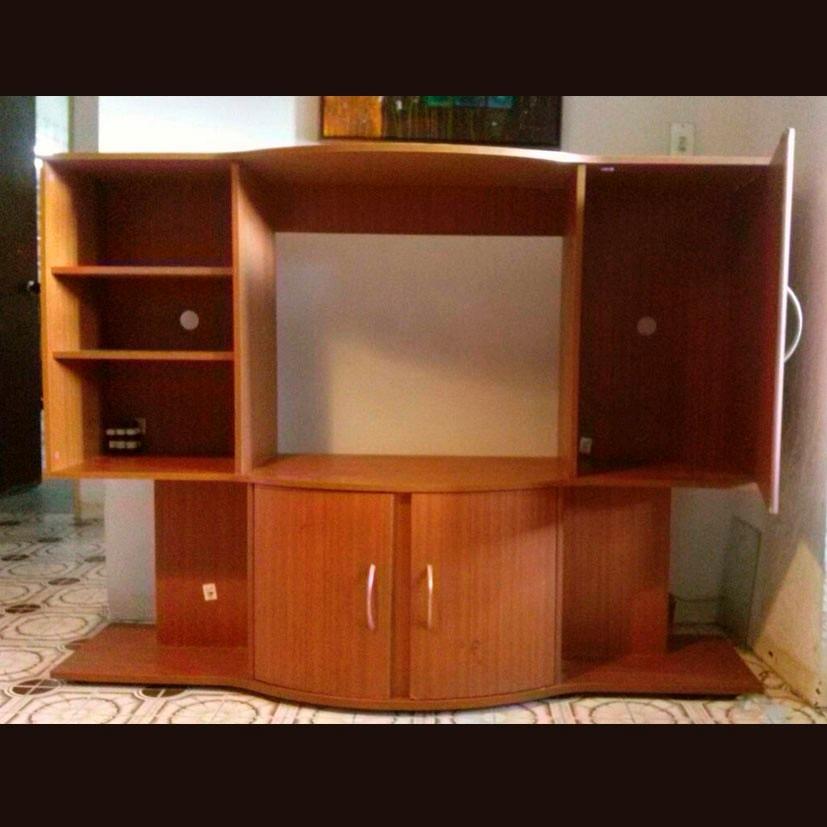 Mueble modular para tv multiuso bs en for Mueble modular