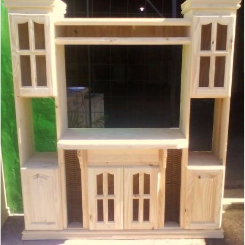 Mueble modular p tv de 29 de en crudo s pintar - Muebles en crudo para pintar ...